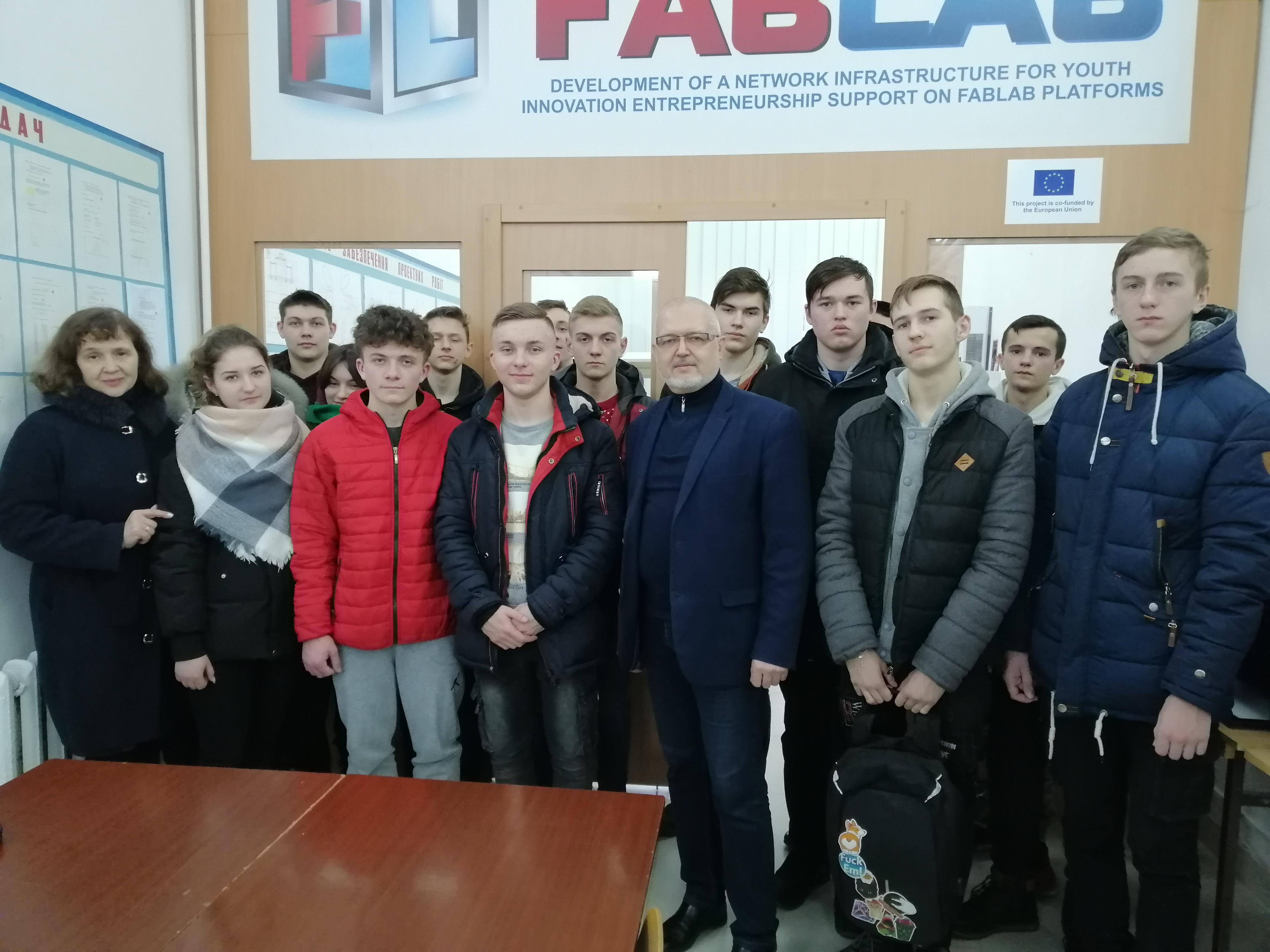 Екскурсія в FabLab